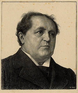 Portrait of Abraham Kuyper by Jan Veth (1900).